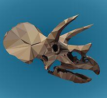 Polygon Triceratops by alexbeppo