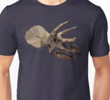 Polygon Triceratops Unisex T-Shirt