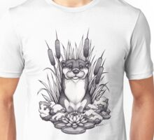Otter & Aquatic Plants Unisex T-Shirt