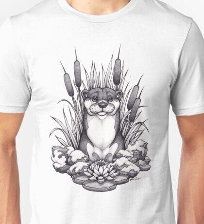 Otter & Aquatic Plants Unisex T-Shirt
