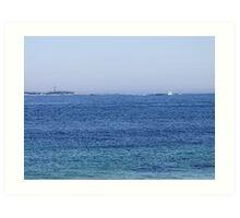 Sambro Island Light (02) Art Print