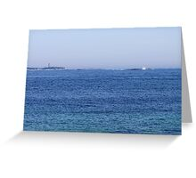 Sambro Island Light (02) Greeting Card