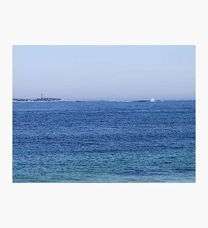 Sambro Island Light (02) Photographic Print