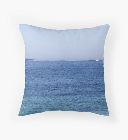 Sambro Island Light (02) Throw Pillow