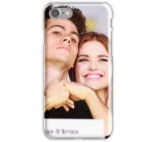 Dylan O'Brien and Hollan Roden Comic Con iPhone Case/Skin
