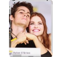 Dylan O'Brien and Hollan Roden Comic Con iPad Case/Skin