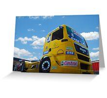 Race Truck Greeting Card