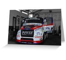 Race Truck 2 Greeting Card