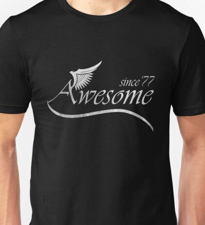 Awesome Since 1977 Unisex T-Shirt
