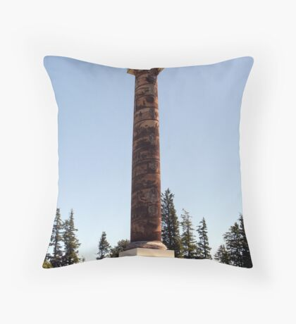 Astoria Column - Astoria, OR Throw Pillow
