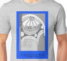 Italy- St. Spirito interior dome- Firenze Unisex T-Shirt