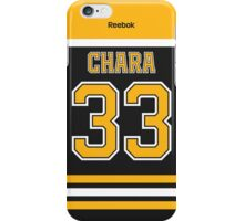 Boston Bruins Zdeno Chara Jersey Back Phone Case iPhone Case/Skin