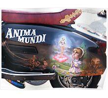 Anima  Mundi scooter Poster