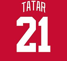 Detroit Red Wings Tomas Tatar Jersey Back Phone Case by Russ Jericho