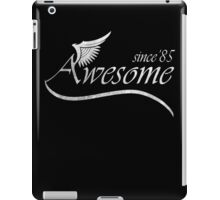Awesome Since 1985 iPad Case/Skin