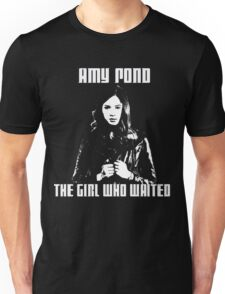 Amy Pond The Girl Who Waited Unisex T-Shirt