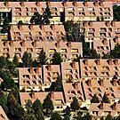 Apartment patterns, Solano de la Vega, Maestrazgo, Spain by Andrew Jones