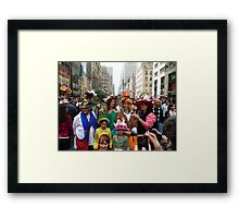 Easter Sunday on the 5th Avenue Framed Print