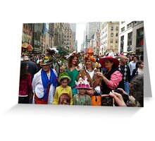 Easter Sunday on the 5th Avenue Greeting Card