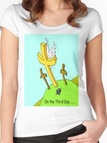 On the Third Day Women's Fitted Scoop T-Shirt