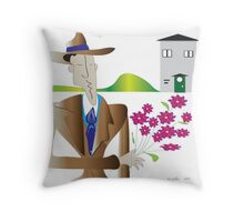 On the street where you live...... Throw Pillow