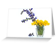 Sage and Buttercups Greeting Card