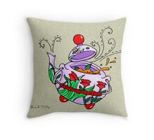 Honey Tea Throw Pillow