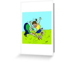 The Rat Incident Greeting Card