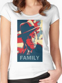 Corleone Family Women's Fitted Scoop T-Shirt