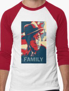 Corleone Family Men's Baseball ¾ T-Shirt