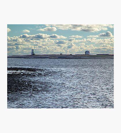 Devil's Island Lighthouse Photographic Print