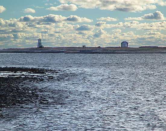 Devil's Island Lighthouse by George Cousins