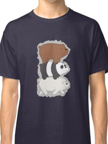 We Bare Bears Bearstack Classic T-Shirt