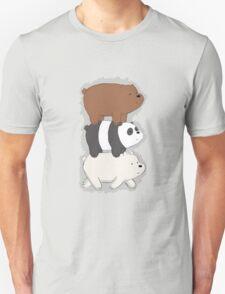 We Bare Bears Bearstack Unisex T-Shirt