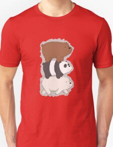 We Bare Bears Bearstack T-Shirt