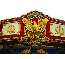 """CROWN OF THE MERRY-GO-ROUND!"" Photographic Print"