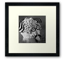 Who is this funny guy? SOLVED! Framed Print