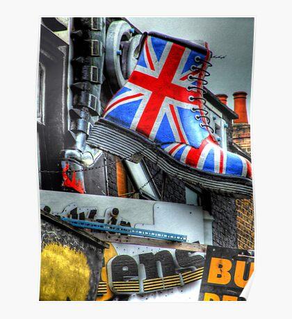 Union Jackboot - Camden Poster