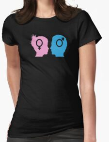 stock-vector-silhouette-man-and-woman T-Shirt