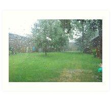 Rainy, Rainy Day Art Print