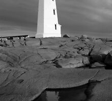 Summer Day, Peggy's Cove by Harv Churchill