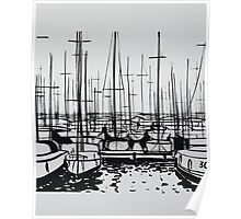 Yachts Poster