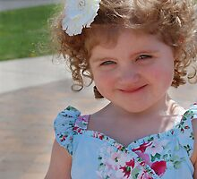 Ava M., Easter 2011 Portrait by Brittany Kinney