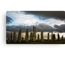 Callanish September Evening Canvas Print