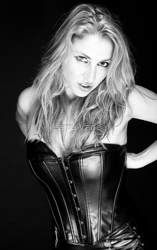 Blonde and Black #1 by Larry Varley