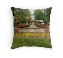 Alma Mater - ROANOKE COLLEGE series -2 Throw Pillow