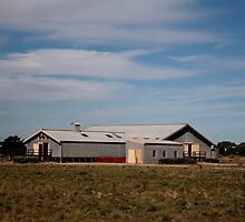 Shearing Shed by myraj
