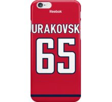Washington Capitals Andre Burakovsky Jersey Back Phone Case iPhone Case/Skin