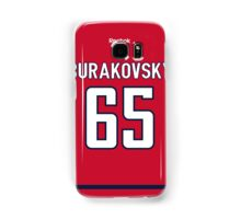 Washington Capitals Andre Burakovsky Jersey Back Phone Case Samsung Galaxy Case/Skin