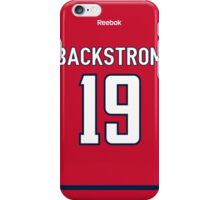 Washington Capitals Nicklas Backstrom Jersey Back Phone Case iPhone Case/Skin